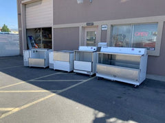 Used Milk Beverage Coolers