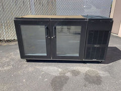 Used Perlick Under Counter 2 Door Back Bar Cooler