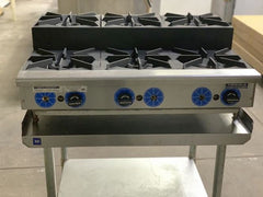 Used Rankin Delux Step Up 6 Burner Range