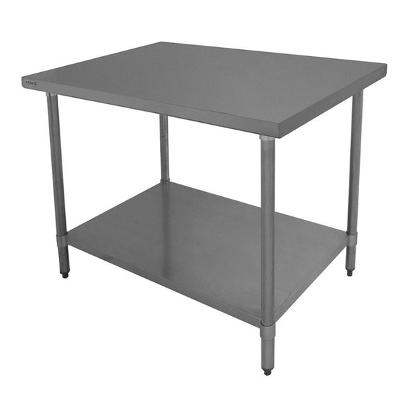 "GSW WT-EE2448 48x24"" Stainless Steel Work Table"