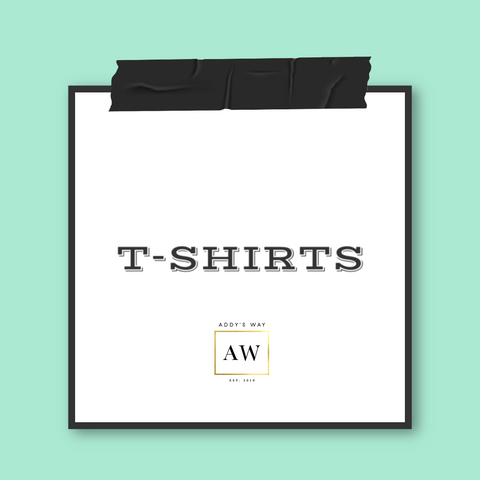 AW APPAREL T-SHIRTS