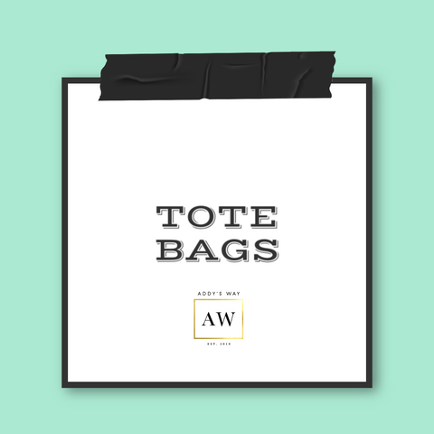 AW APPAREL TOTE BAGS