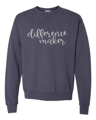Difference Maker Crew Fleece