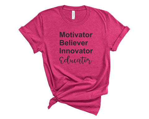 Educator Berry T-Shirt