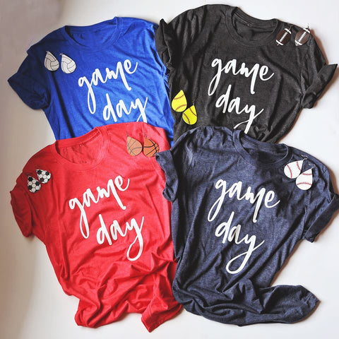 Game Day Tee & Sport Earring Bundle Clearance