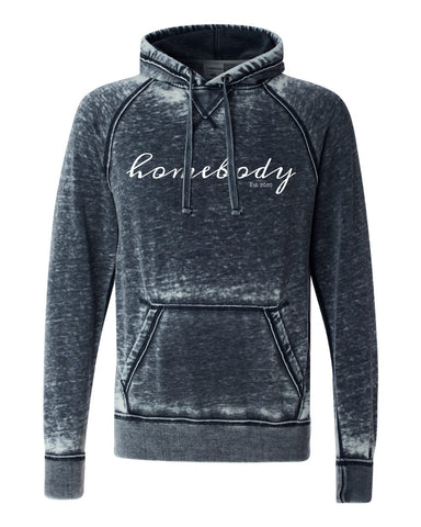 Homebody Acid Wash Fleece Hoodie