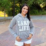 Lake Life Acid Wash Fleece Hoodie