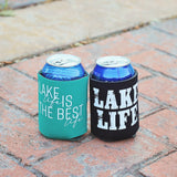 Lake Life Can Koozie