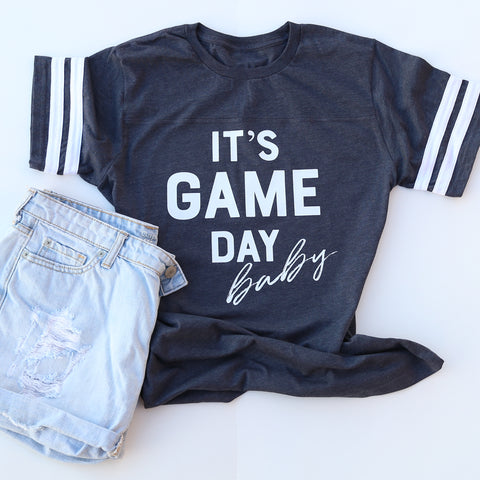 It's Game Day Baby Unisex Jersey