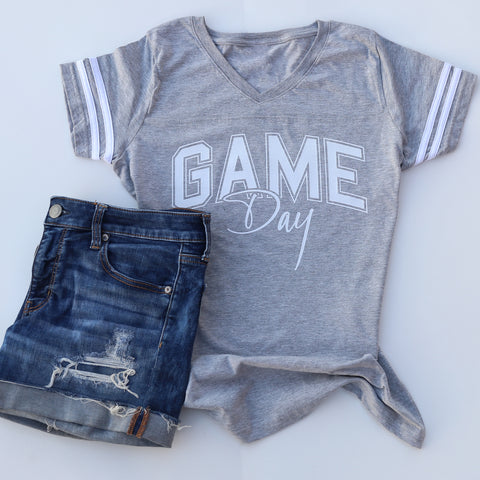 Game Day  Women's V-Neck Jersey