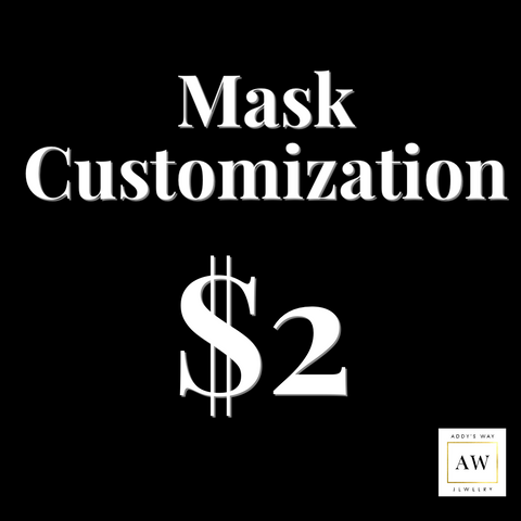 Face Covering/Mask Customization