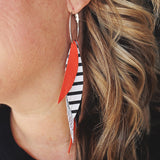 Fringe Feather Hoop