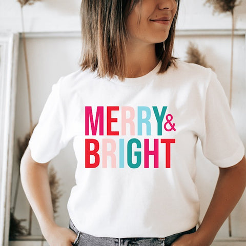 Merry & Bright T-Shirt Bundle!