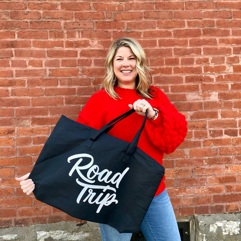 Day 5 ~ Road Trip Zippered Tote