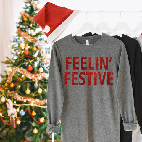 Feelin' Festive Long Sleeve Tee Bundle