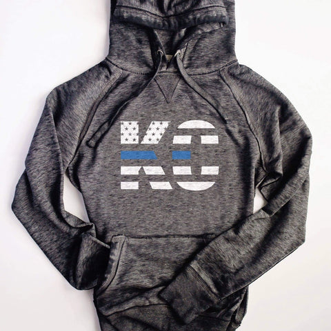 KC Hoodie Back the Blue