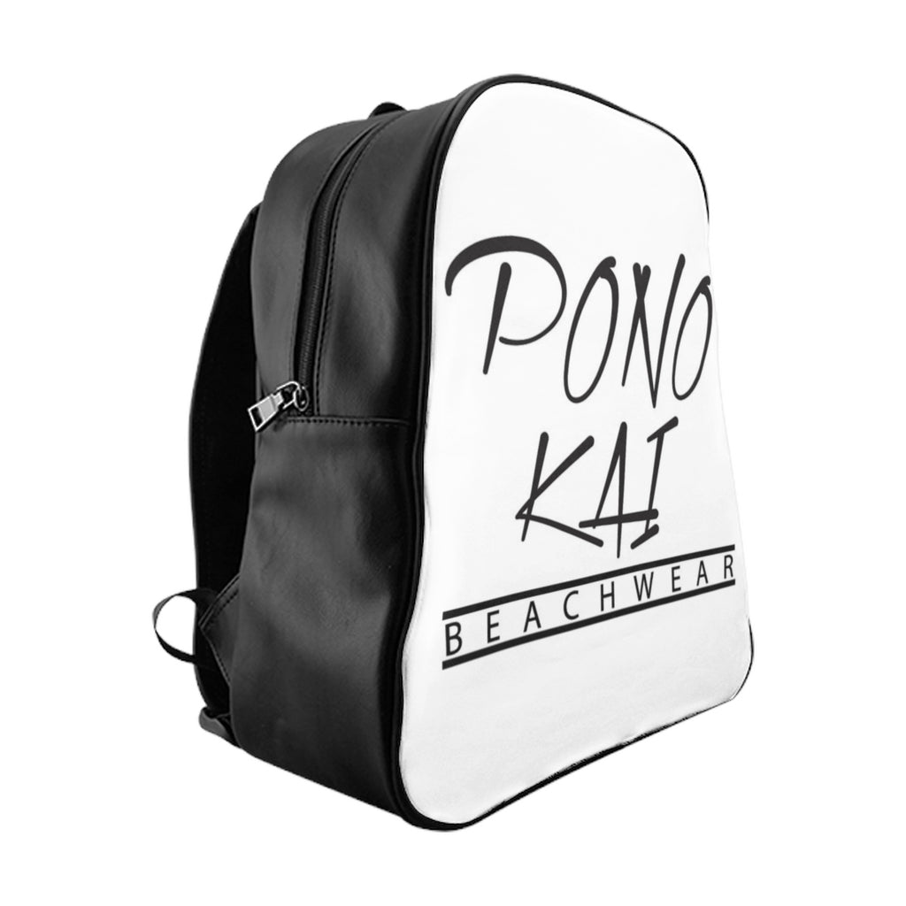Pono Kai Logo School Backpack
