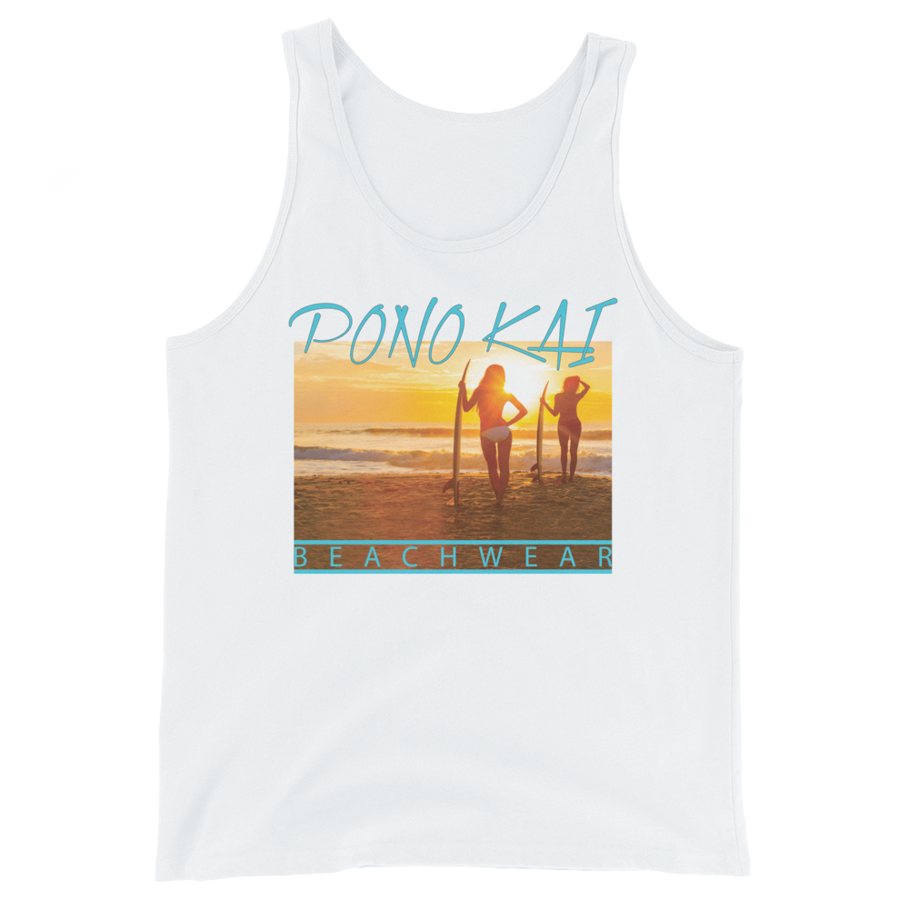 Pono Kai Surf's Up Tank Top (unisex)