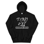 Pono Kai WHT Logo Square Heavy Hooded Sweatshirt (S - 5XL)