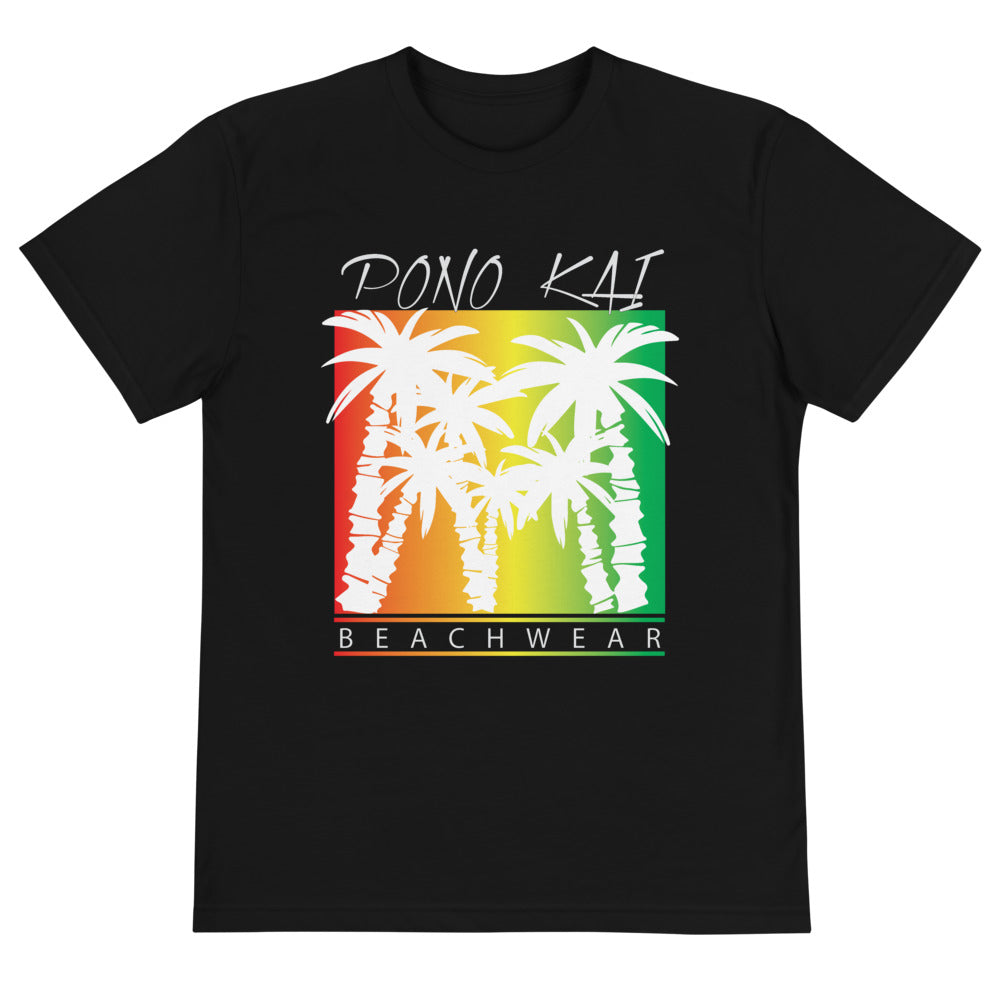 Pono Kai Rasta Palms2 Eco Sustainable T-Shirt