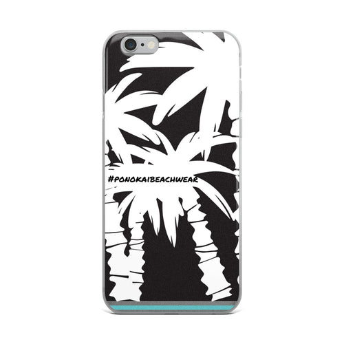 Pono Kai Black Palms iPhone Case