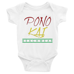 Pono Kai Rasts Square Logo Infant Bodysuit