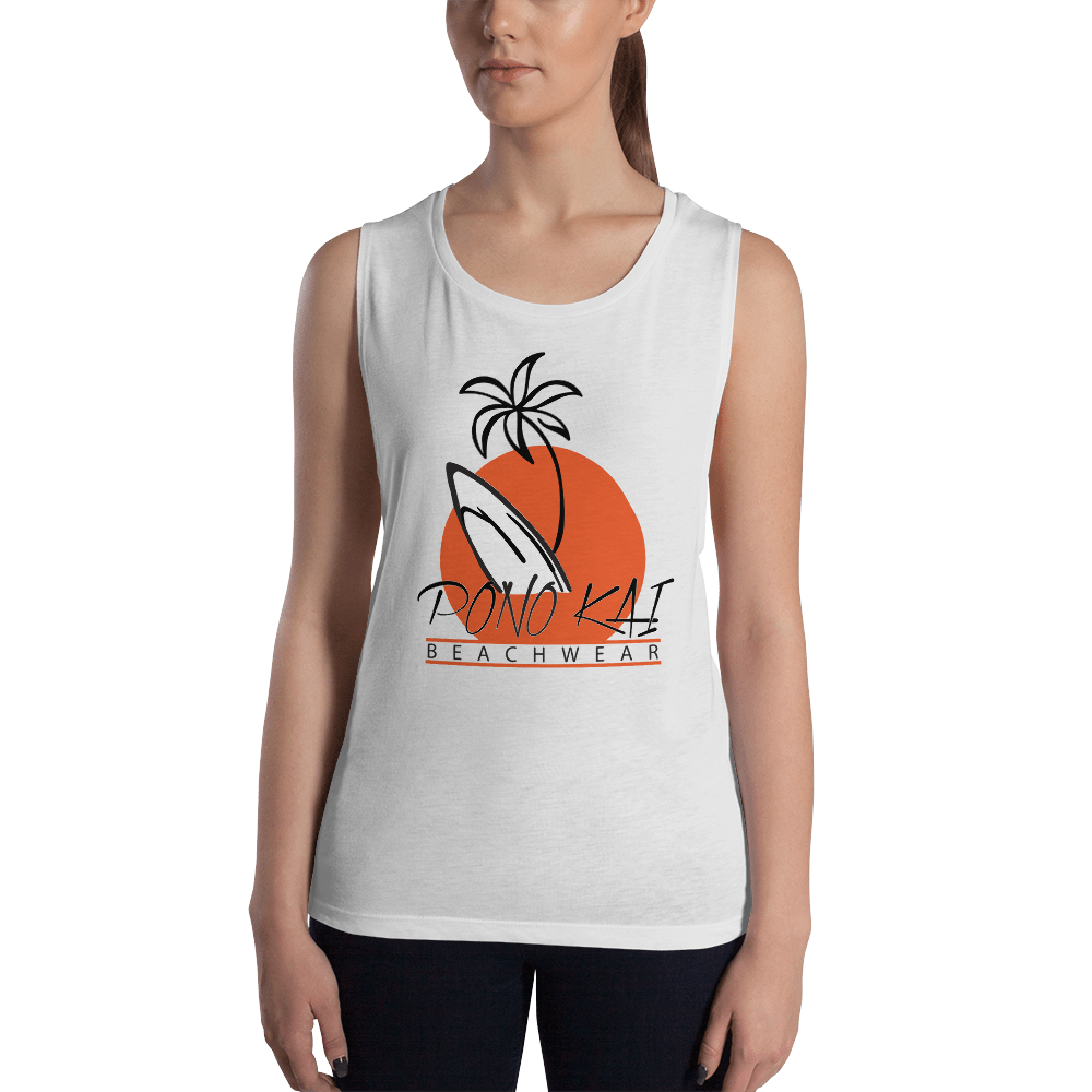 Pono Kai Surf2 Ladies' Muscle Tank
