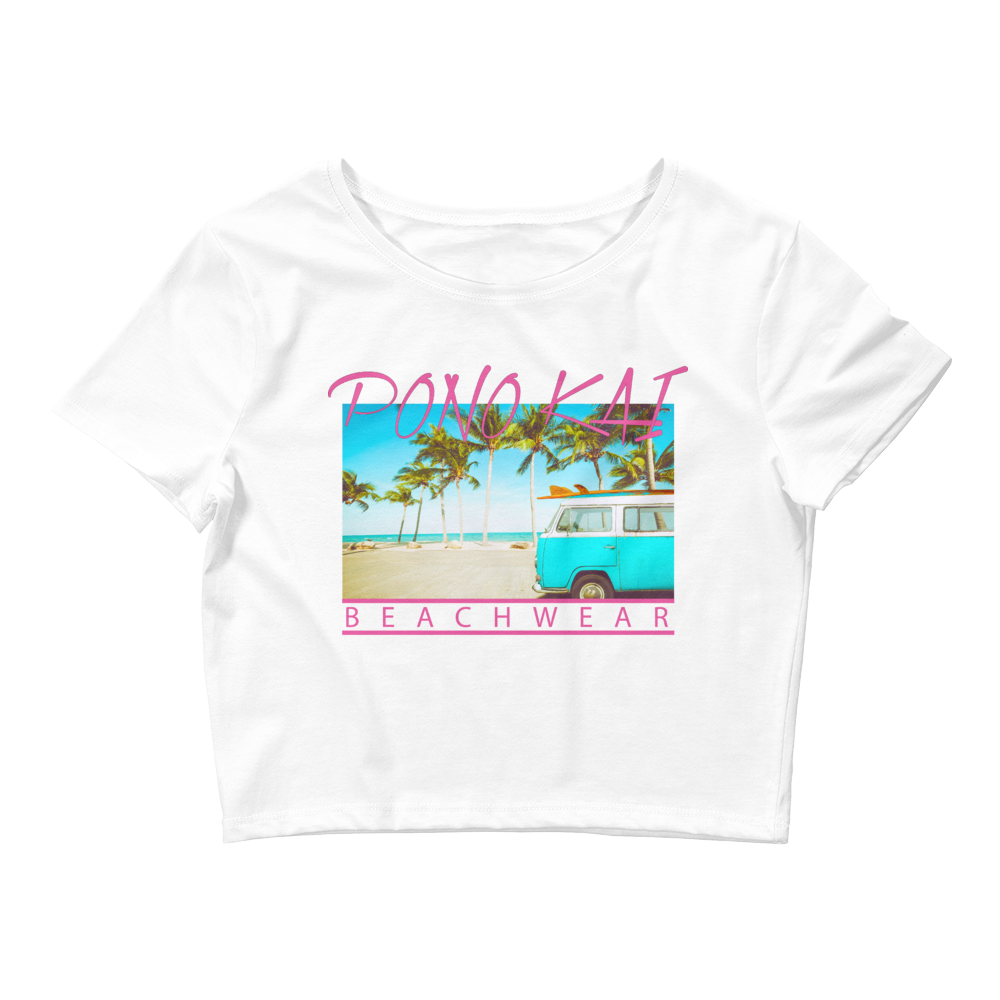 Pono Kai Beach Bug Women's Crop Tee
