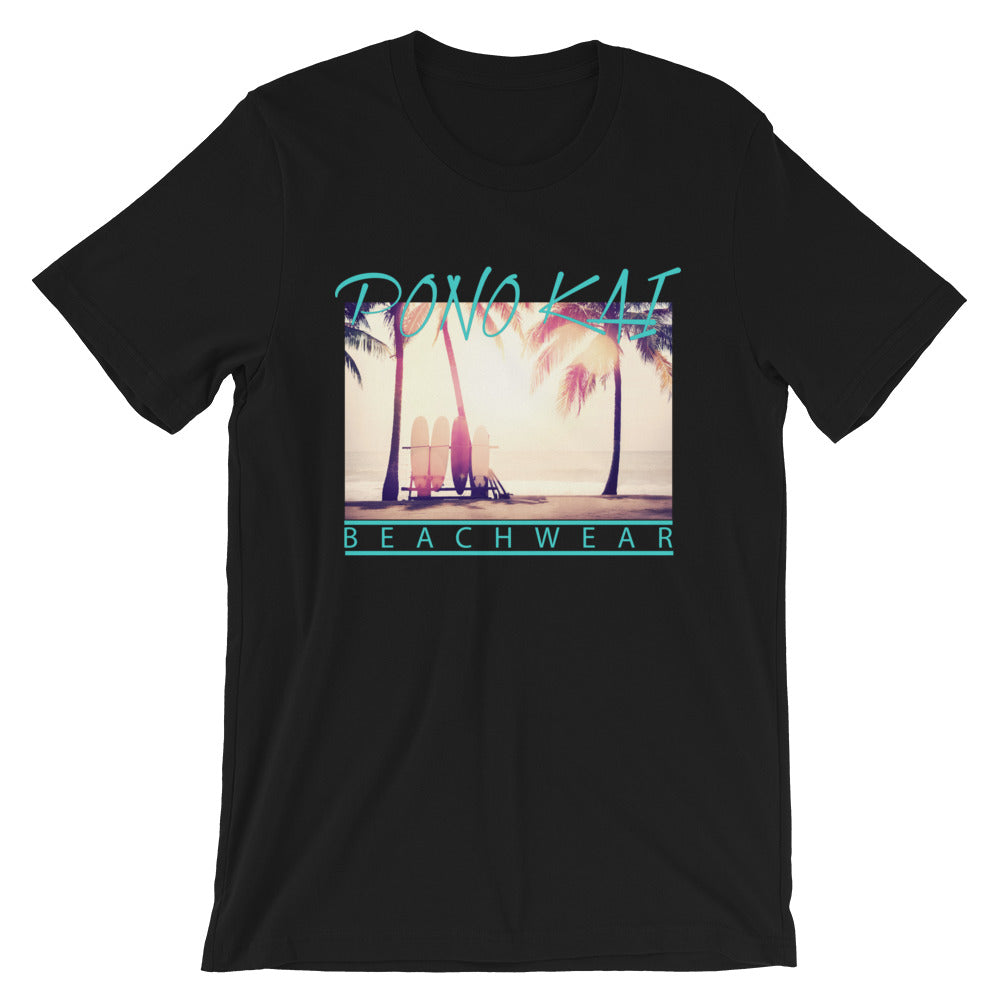Pono Kai Beachin'  Short-Sleeve Unisex T-Shirt (in dark colors)