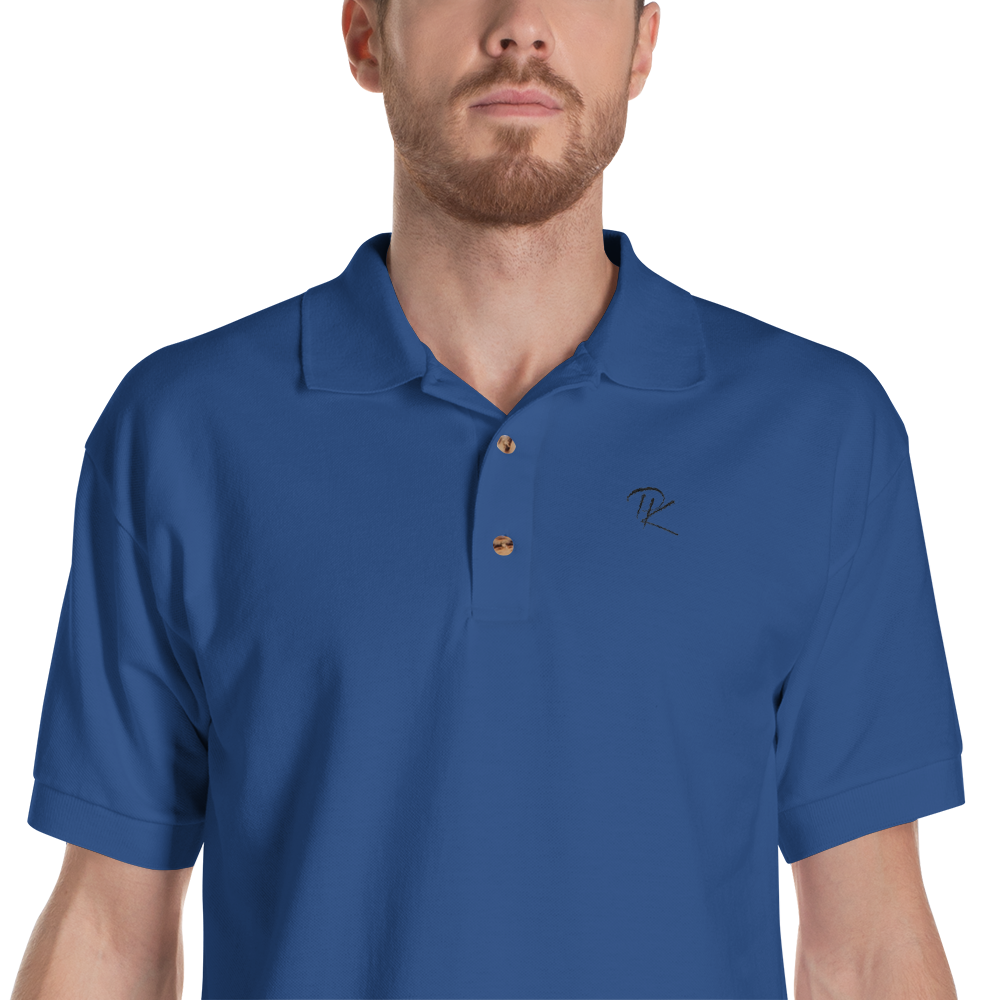 Pono Kai Embroidered Polo Shirt