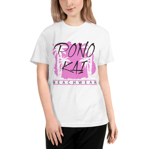 Pono Kai Pink Palms Eco Sustainable T-Shirt
