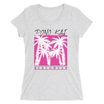 Pono Lai Pink Palms Ladies short sleeve T-shirt