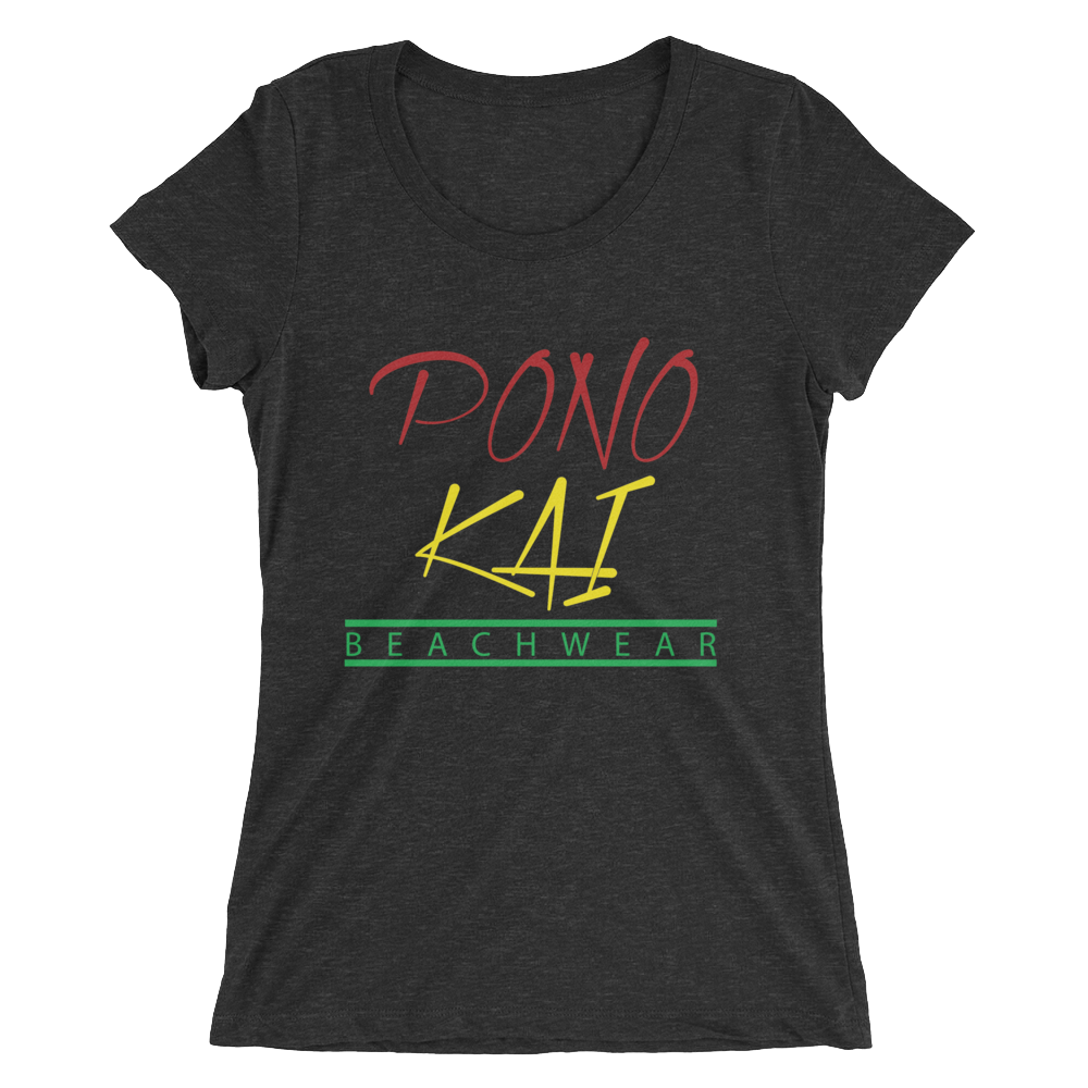 Pono Kai Rasta Square Logo Women's short sleeve t-shirt