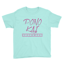 Pono Kai Logo Square Youth Short Sleeve T-Shirt