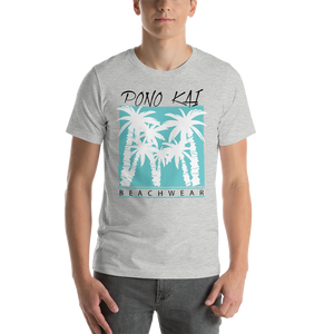 Pono Kai Blue Palms Short-Sleeve Unisex T-Shirt