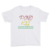 Pono Kai Rasta Square Logo Youth Short Sleeve T-Shirt