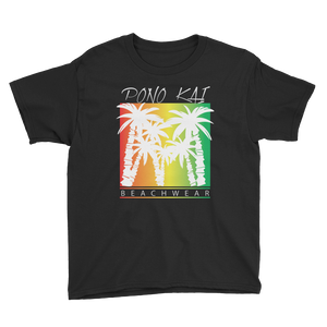 Pono Kai Rasta Palms2 Youth Short Sleeve T-Shirt