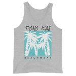 Pono Kai Blue Palms Tank Top