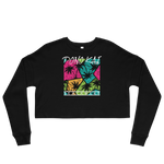 Pono Kai Cool Palms Crop Sweatshirt