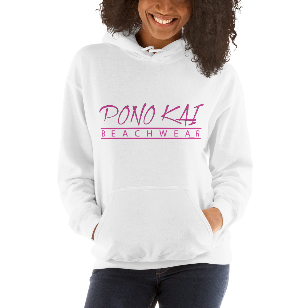 Pono Kai PNK Logo Heavy Hooded Sweatshirt (S - 5XL)