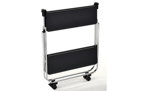 Bar Serving Cart Folding - White | Black