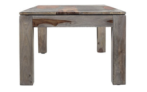 Coffee Table with Solid Wood - Natural & Grey