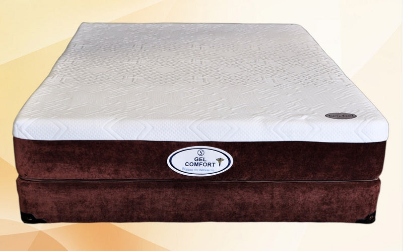 "10"" Memory Gel Foam Mattress - Comfort Plus"