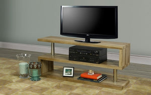 TV Stand with Shelves - Reclaimed Wood