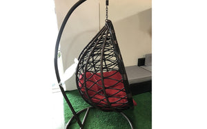 Outdoor Swing Chair - Dark Brown