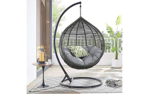 Outdoor Swing Chair - White