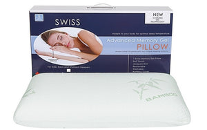 Swiss Advanced Memory Gel Foam Pillow