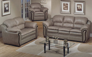 Sofa Set - 3 Piece - Tan