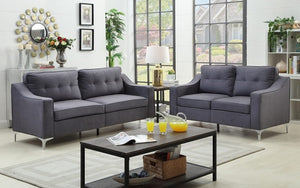 Sofa Set - 2 Piece - Grey