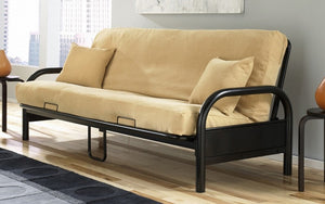 Metal Futon Frame - Black